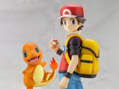 Pokemon ArtFX J Red With Charmander Statue