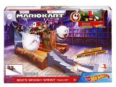 Mario Kart Hot Wheels Boo's Spooky Sprint Track Set