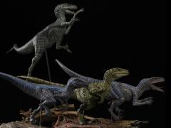 Jurassic Series Tactical Team (Ceasar) Raptor 1/35 Scale Figure Set