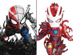 Spider-Man: Maximum Venom Mini Egg Attack MEA-018SP Venomized Iron Man & Spider-Man SDCC 2020 Exclusive Set
