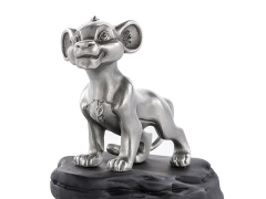 The Lion King Simba Pewter Collectible Musical Carousel