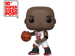 "Pop! NBA: Bulls - 10"" Super Sized Michael Jordan (White Jersey) Exclusive"