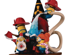 Minions D-Stage DS-049 Minions (Fire Fighters) Statue