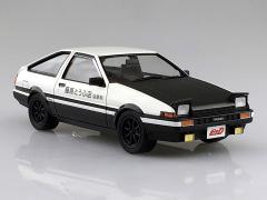 Initial D Takumi Fujiwara's AE86 Toyota Trueno (Project D Ver.) 1/24 Scale Model Kit