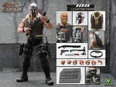 Action Force Kerak 1/12 Scale Figure