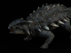 Jurassic Series Ankylosaurus Mace (Blue) 1/35 Scale Figure