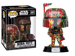 Pop! Star Wars: Futura x Boba Fett Exclusive with Pop! Protector Case