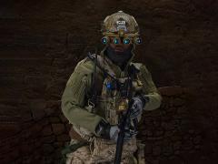 Special Mission Unit Part X Frozen Night Assault 1/6 Scale Figure