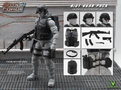 Action Force Riot Gear Pack 1/12 Scale Accessory Set