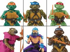 TMNT Retro Rotocast SDCC 2020 Exclusive Set of 6 Figures