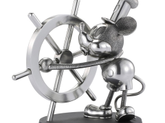 Steamboat Willie Mickey Mouse Pewter Collectible Limited Edition Figurine