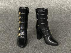 High Heel Boots (Black) 1/6 Scale Accessory Set
