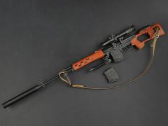 SVD Rifle 1/6 Accessory Set