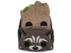 Marvel Pop! Groot & Rocket Mini Backpack
