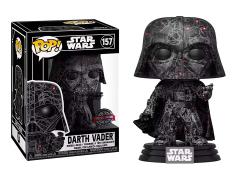 Pop! Star Wars: Futura x Darth Vader Exclusive with Pop! Protector Case
