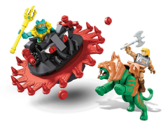 Masters of the Universe Mega Construx Probuilder Battle Cat Vs. Roton Playset