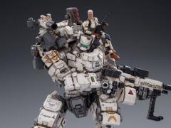 Dark Source Steelbone Armor (White) With Pilot 1/24 Scale Figure Set