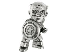 Marvel Captain America Pewter Collectible Mini Figurine