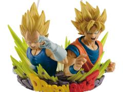 Dragon Ball Z Com:Figuration Gogeta Vol.2 Super Saiyan Vegeta & Goku (Reissue)