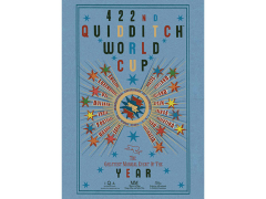 Harry Potter Quidditch Cup Tin Sign