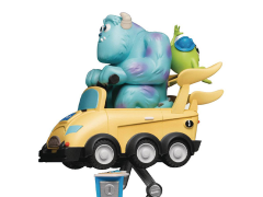 Monsters, Inc. D-Stage Mike & Sully Coin Ride Statue