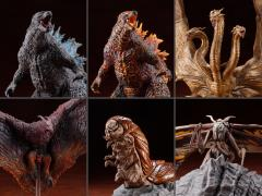 Godzilla: King of the Monsters Hyper Modeling Series Box of 6 Figures