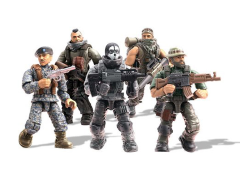 Call of Duty Mega Construx Heroes Set of 5 Figures