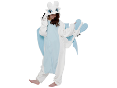 How to Train Your Dragon Light Fury Kigurumi
