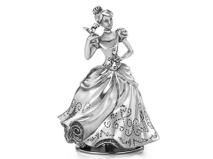 Cinderella Pewter Collectible Musical Carousel
