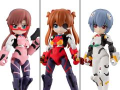 Rebuild of Evangelion Desktop Army Box of 3 Figures