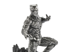 Marvel Black Panther Limited Edition Pewter Collectible Figurine