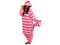 Alice in Wonderland Cheshire Cat Kigurumi