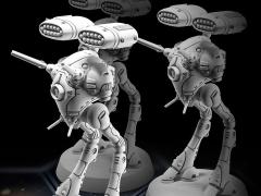 Robotech MiniTech MT27 Light Artillery Battlepod 1/285 Scale Model Kit (Three-Pack)