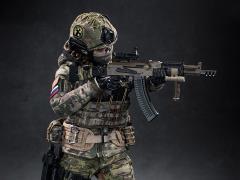 Russian Special Combat Miss Spetsnaz 1/6 Scale Figure