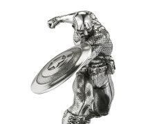 Marvel Captain America First Avenger Pewter Collectible Figurine