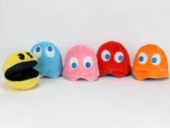 Pac-Man Set of 5 Plush