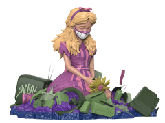 Alice in Wasteland (Acid Edition) Limited Edition Statue