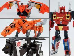 Transformers Masterpiece MP-15/16-E Cassettebot Vs Cassettetron Set Exclusive