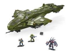 Halo Infinite Mega Construx Pelican Inbound