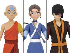 Avatar: The Last Airbender Select Wave 1 Set of 3 Figures (Reissue)