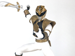 Mighty Morphin Power Rangers White Ranger 1/8 Scale Statue