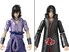Naruto Anime Heroes Itachi & Sasuke Exclusive Two-Pack