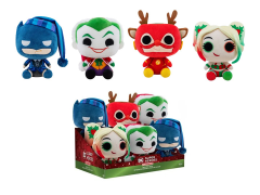 DC Super Heroes Box of 6 Holiday Plushies