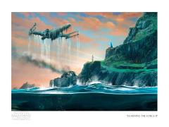 Star Wars Learning the Force II Limited Edition SDCC 2020 Exclusive Giclee