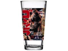 Godzilla Poster (Ver.1) Toon Tumbler Pint Glass