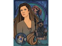 Star Wars Endor Nouveau Limited Edition Lithograph