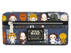 Star Wars Chibi Battle Station Line Up Wallet