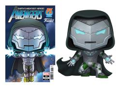 Pop! Marvel: Infamous Iron Man PX Previews Limited Edition Exclusive (With Comic)
