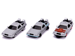 Back to the Future Nano Hollywood Rides Three-Pack