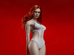 Super-Flexible Female Seamless 1/6 Scale Pale Large Bust Body (S42)